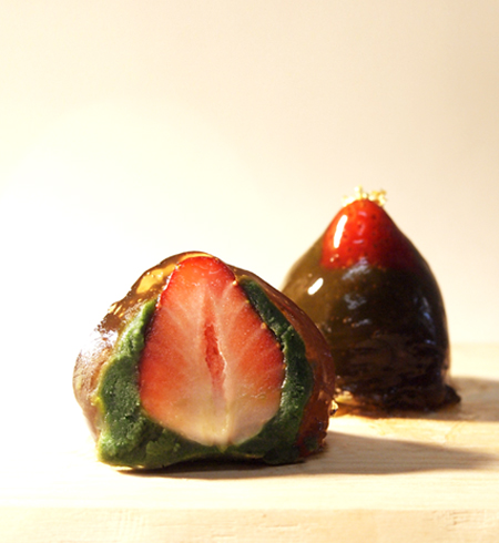 旬の苺と自慢のわらび餅【新商品】わらびと苺