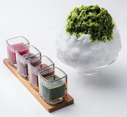 4種のお手製かき氷